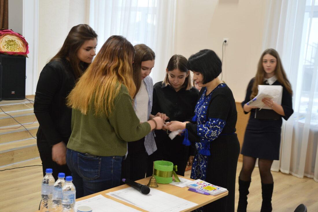 Жеребкування на міжрегіональному дебатному турнірі у м.Житомирі (грудень, 2019)