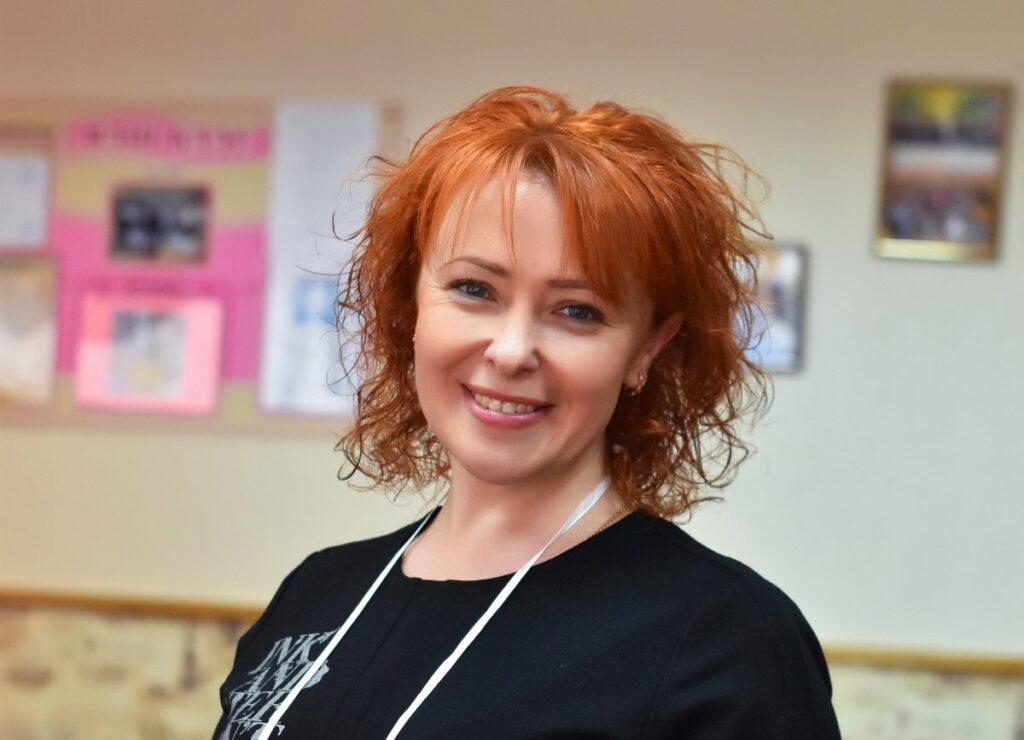 Наталія Фасоля, заступниця директора з виховної роботи, вчителька української мови та літератури у школі №26
