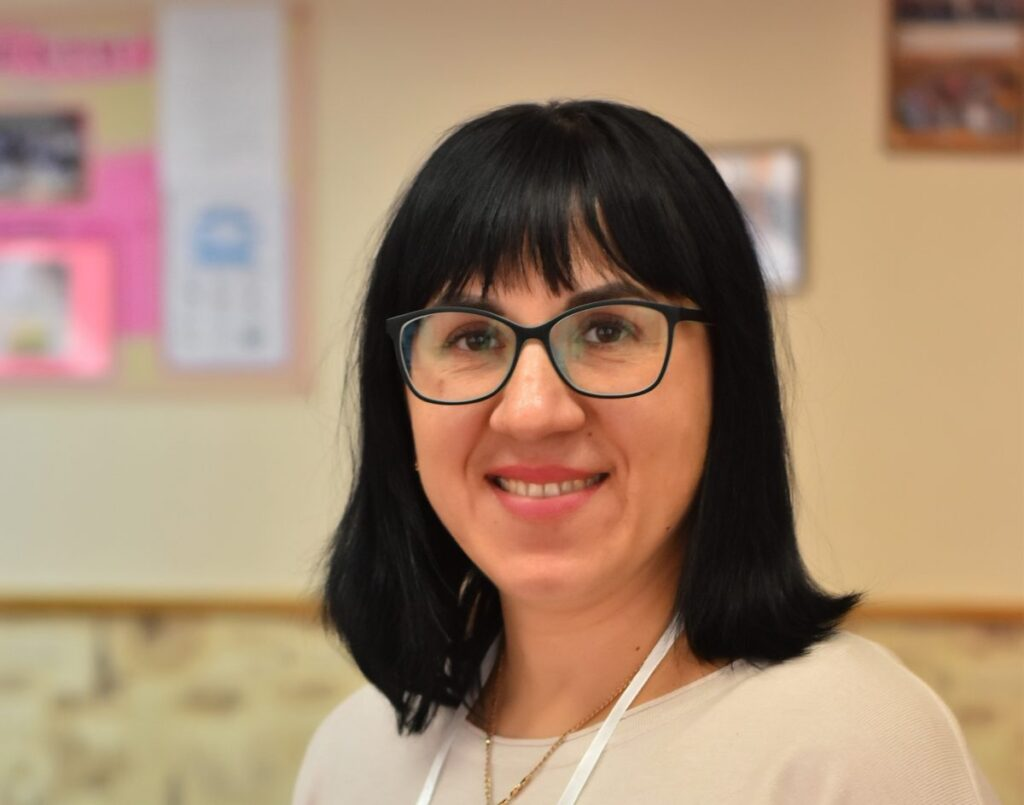 Світлана Хом'як, вчителька англійської мови тернопільської школи №28